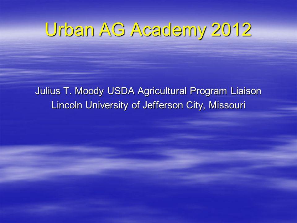 Urban AG Academy 2012 Julius T.