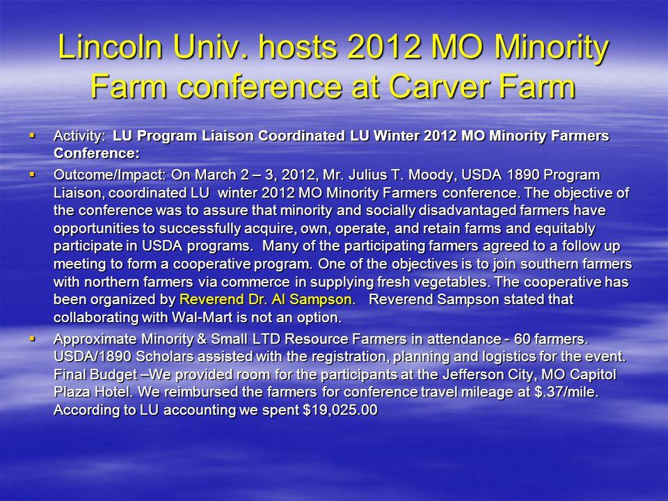 Lincoln Univ.
