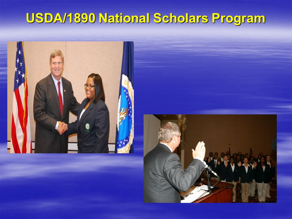 USDA/1890 National Scholars Program