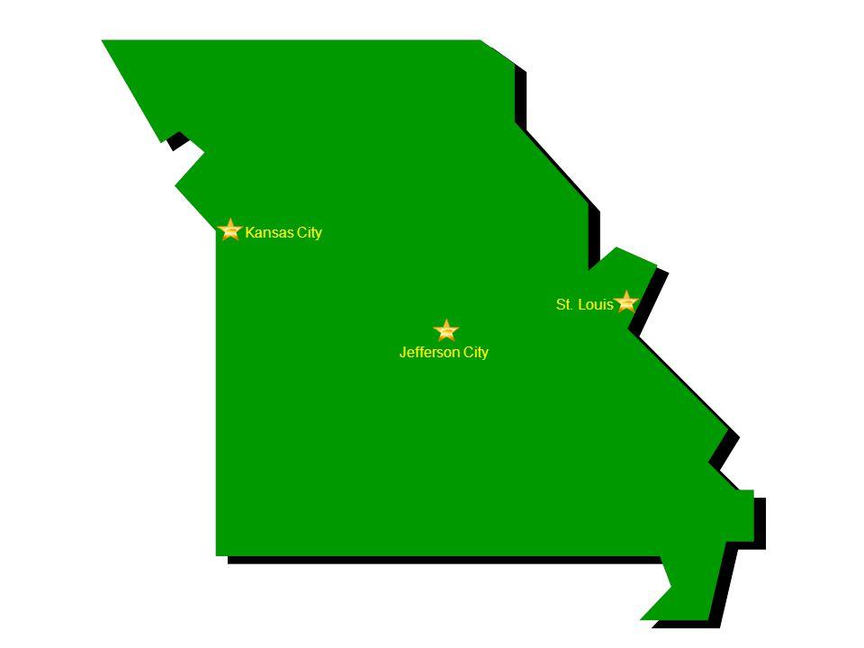 Kansas City Jefferson City St. Louis