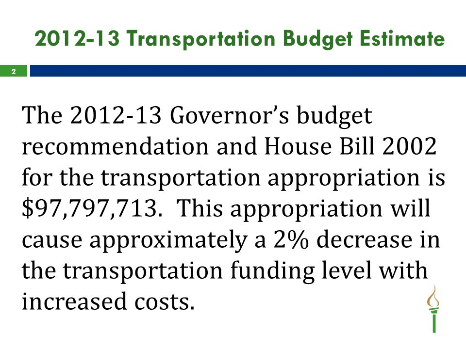 2011-12 State Transportation Aid Calculation  The fiscal year 2011-12 state transportation aid calculation is available through the School Finance website.