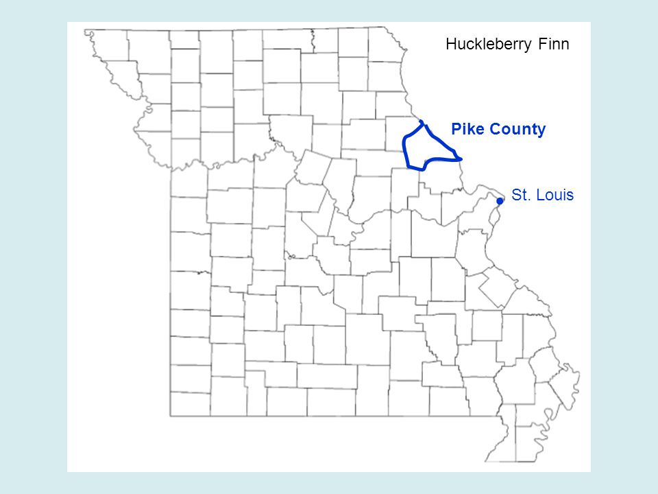 ● St. Louis Huckleberry Finn Pike County