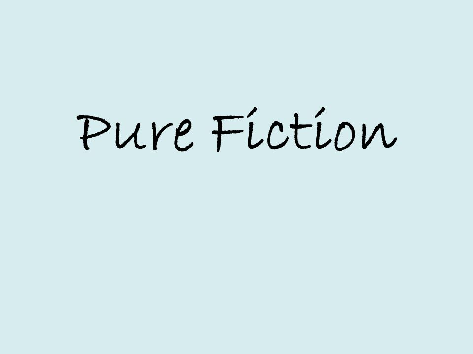 Pure Fiction