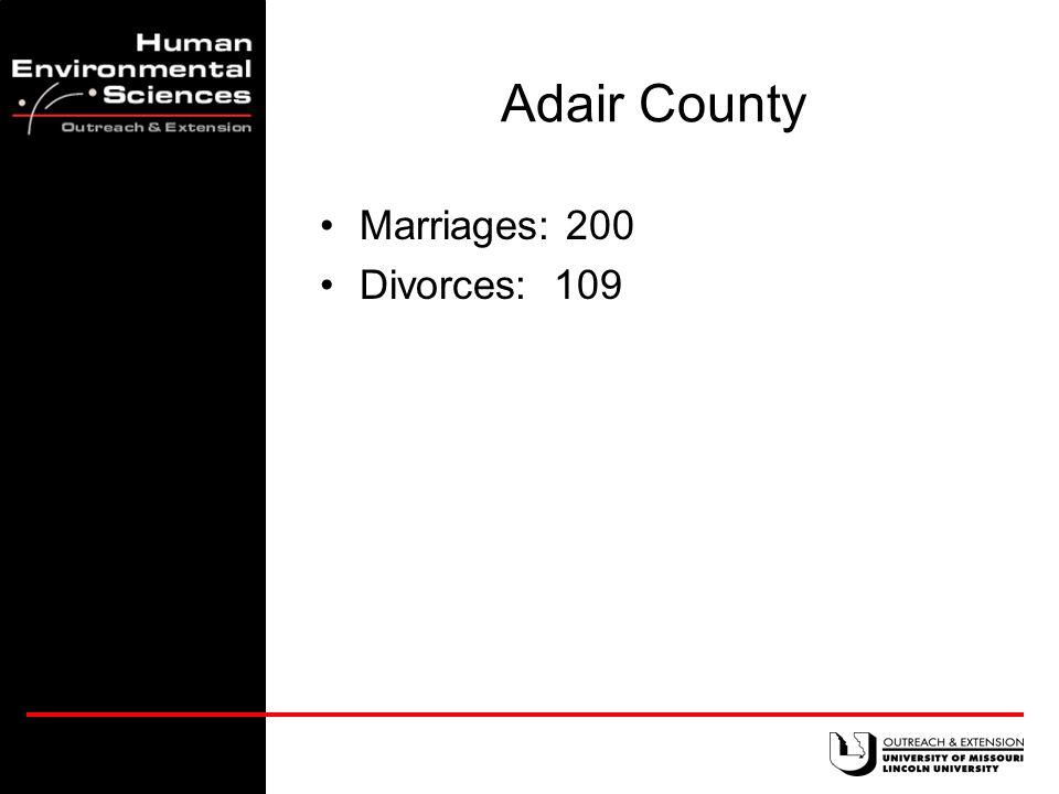 23,458 divorces occurred in Missouri in 2001.