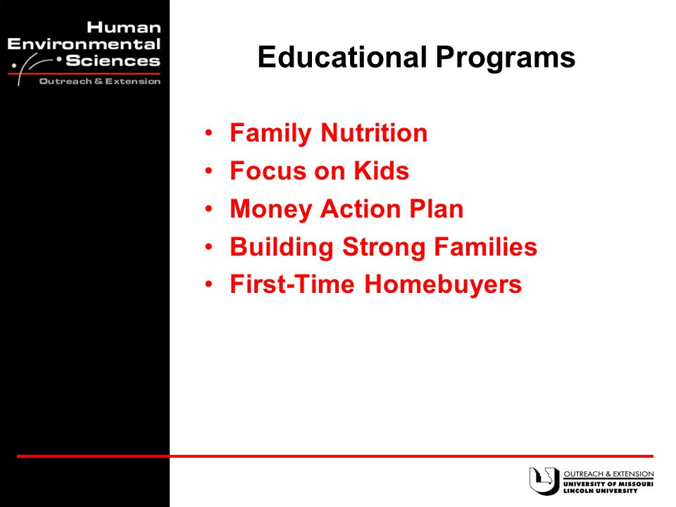 Questions 1.How can we improve the health of families.