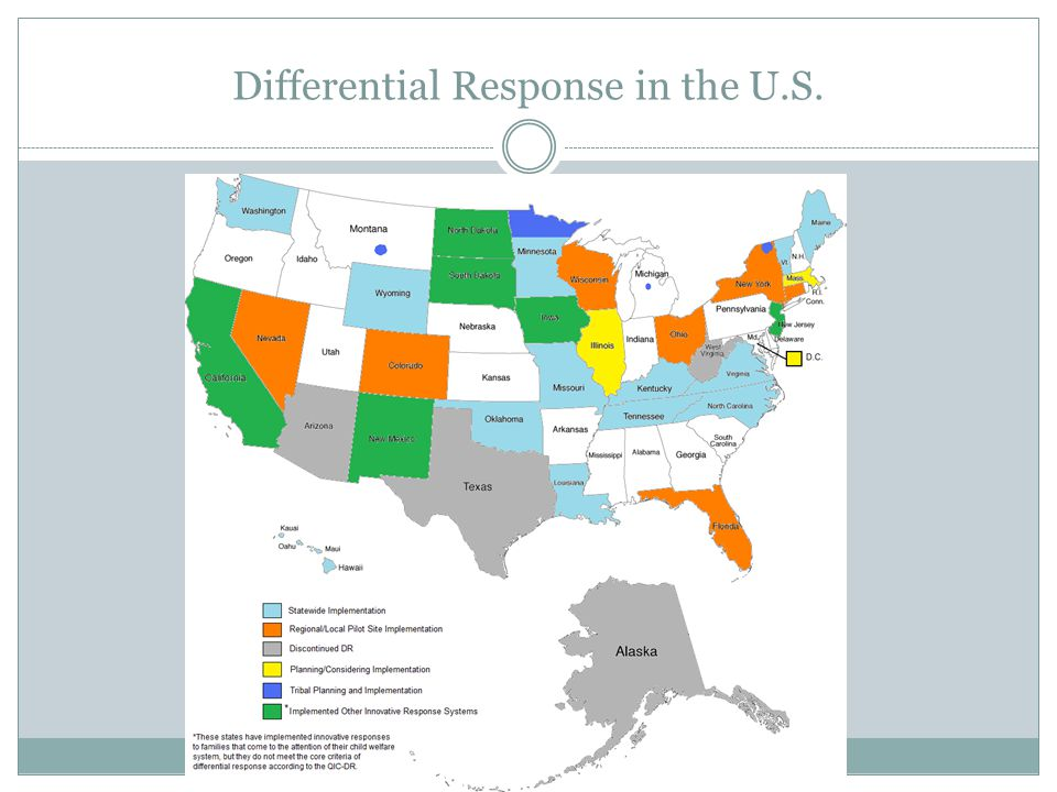 Differential Response in the U.S. 17