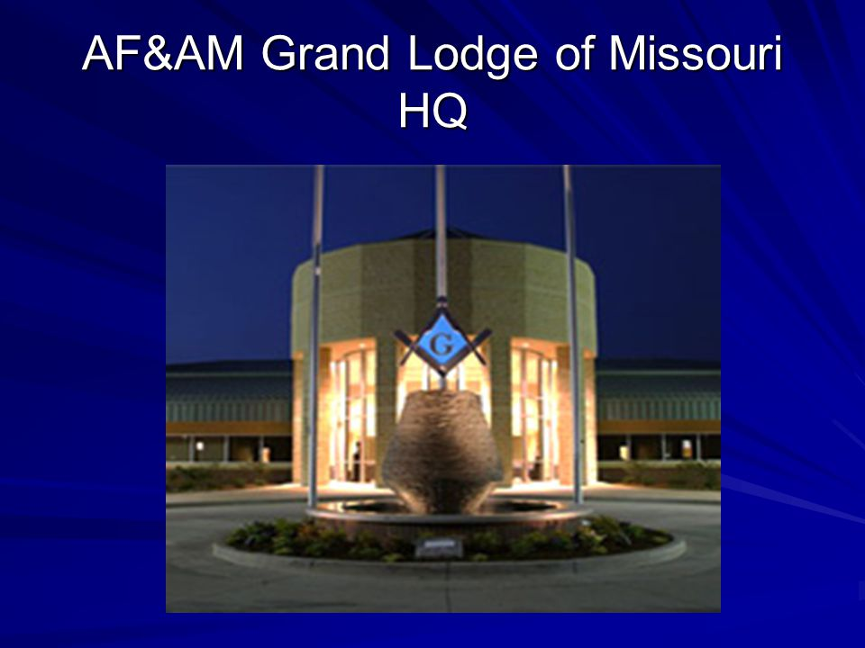 AF&AM Grand Lodge of Missouri HQ