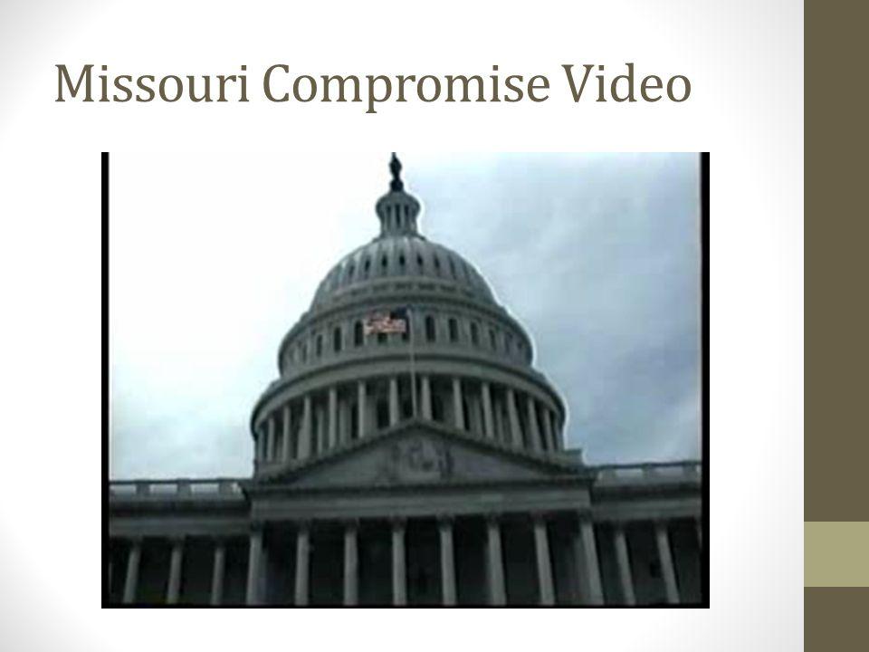 Missouri Compromise Video