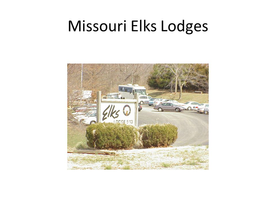 Missouri Elks Lodges