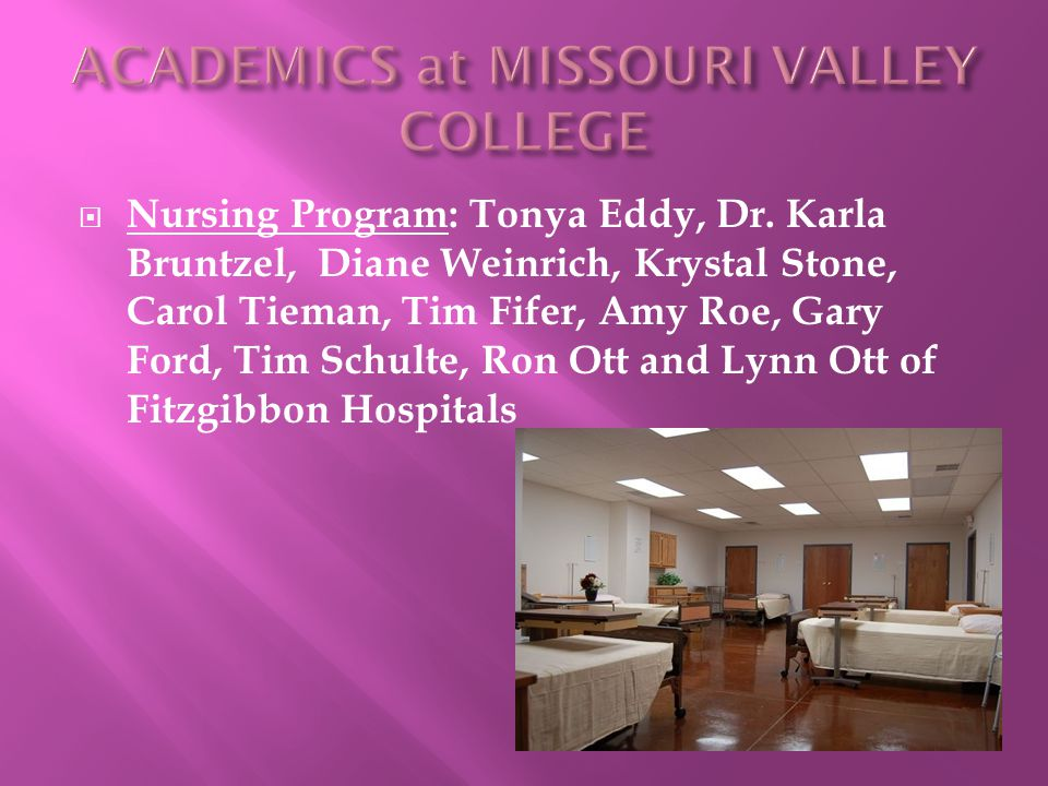  Nursing Program: Tonya Eddy, Dr.
