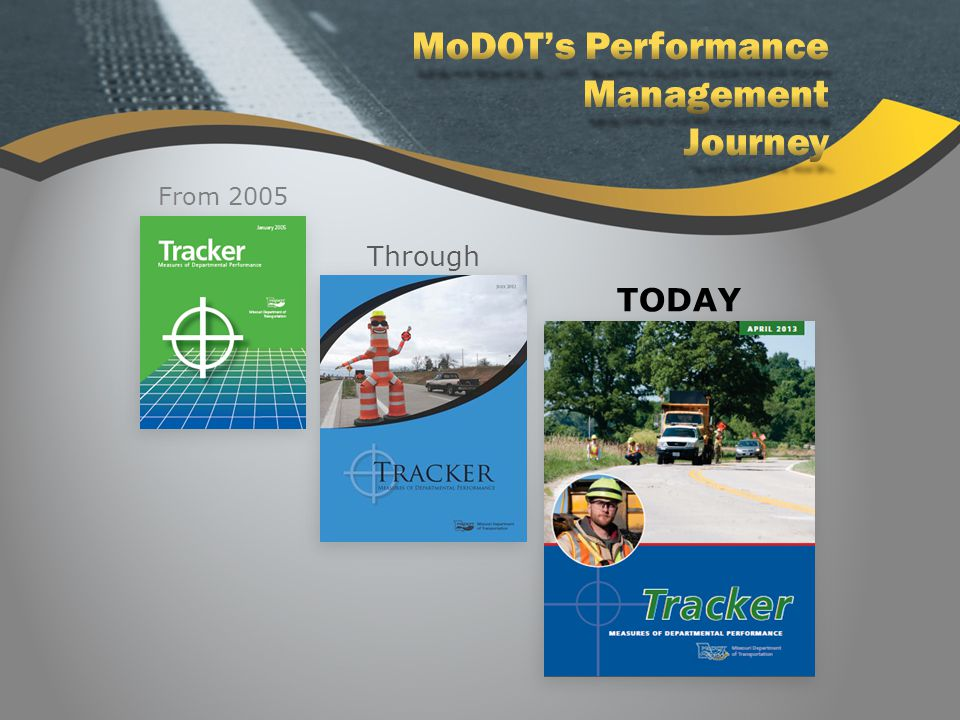 Standing Committee on Performance Management Help FHWA implement MAP-21 performance measures Gather state input Formulating national perspective AASHTO Involvement MAP-21 AASHTO Involvement