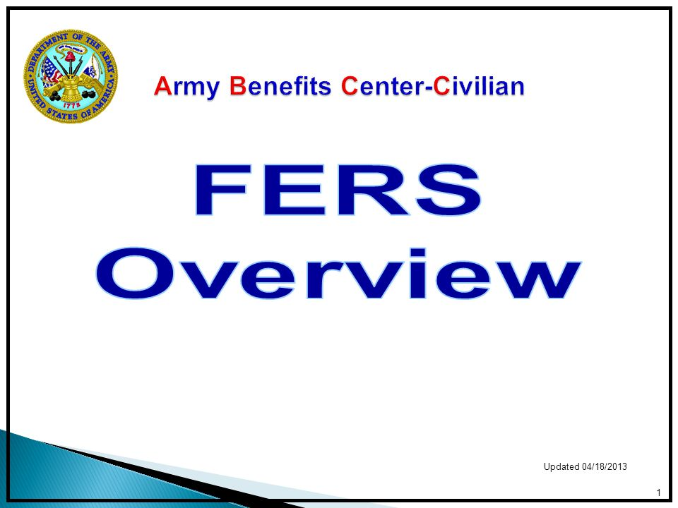 Early Career – 25 + years to retirement Enroll in TSP Enroll in benefits (FEHB, FEGLI, FEDVIP, FSA) Pay civilian deposit Pay military deposit New Employee Orientation Briefing https://www.abc.army.mil/NewEmployee/NewEmployee Orientation.htm https://www.abc.army.mil/NewEmployee/NewEmployee Orientation.htm Mid Career – 10 - 24 years to retirement Adjust benefits based on life situation Review level of TSP participation & allocation between the funds 12
