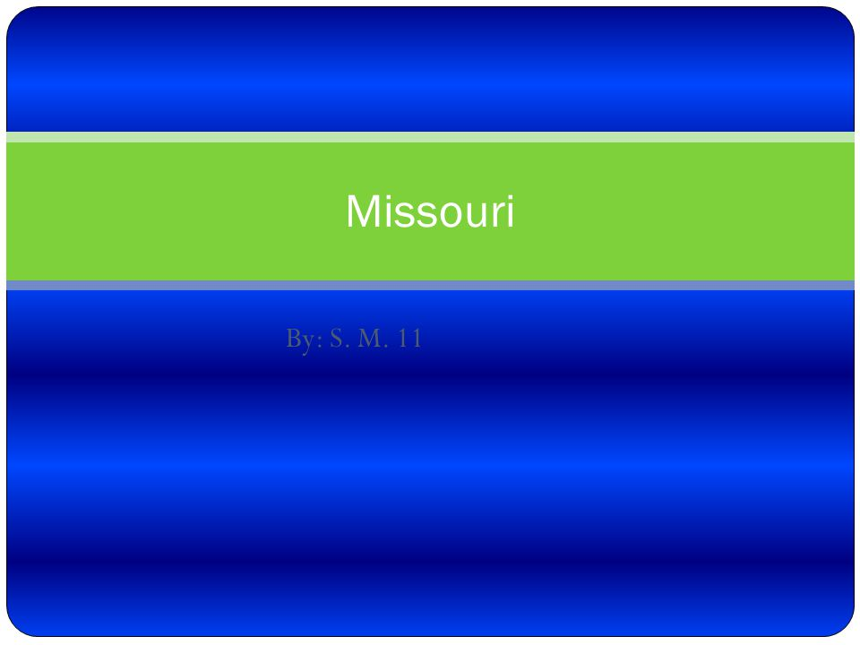List of references Answers.com Missouri by Dennis b.