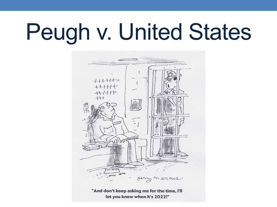 Peugh v. United States