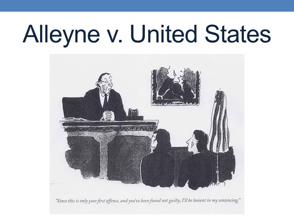 Alleyne v. United States