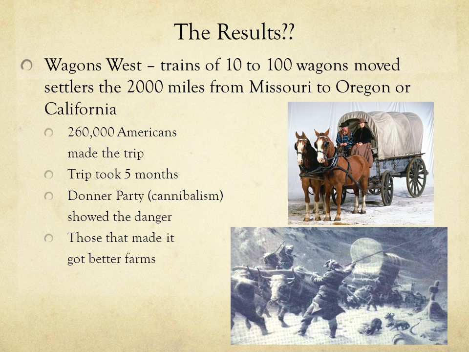 Homework Read Opening the Oregon Trail Use your metacognative markers to track you thinking as you read.