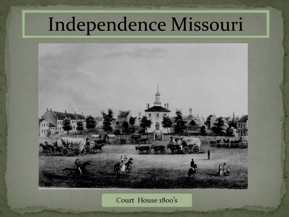 Court House 1800's