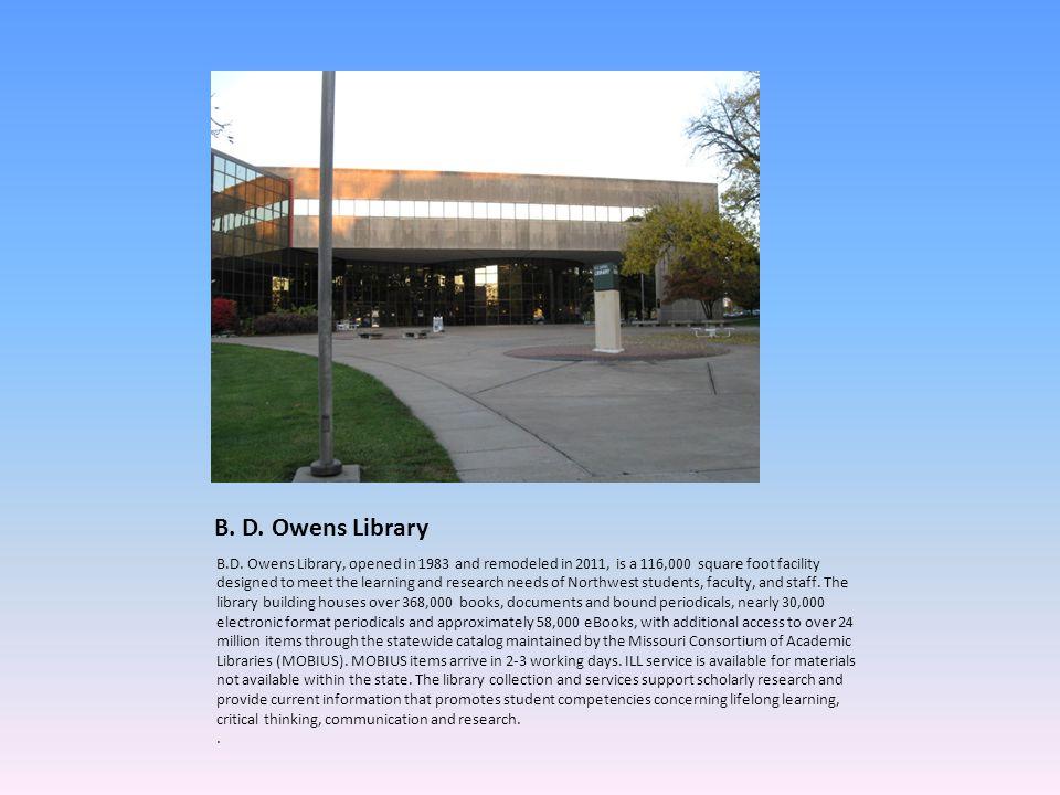 B. D. Owens Library B.D.