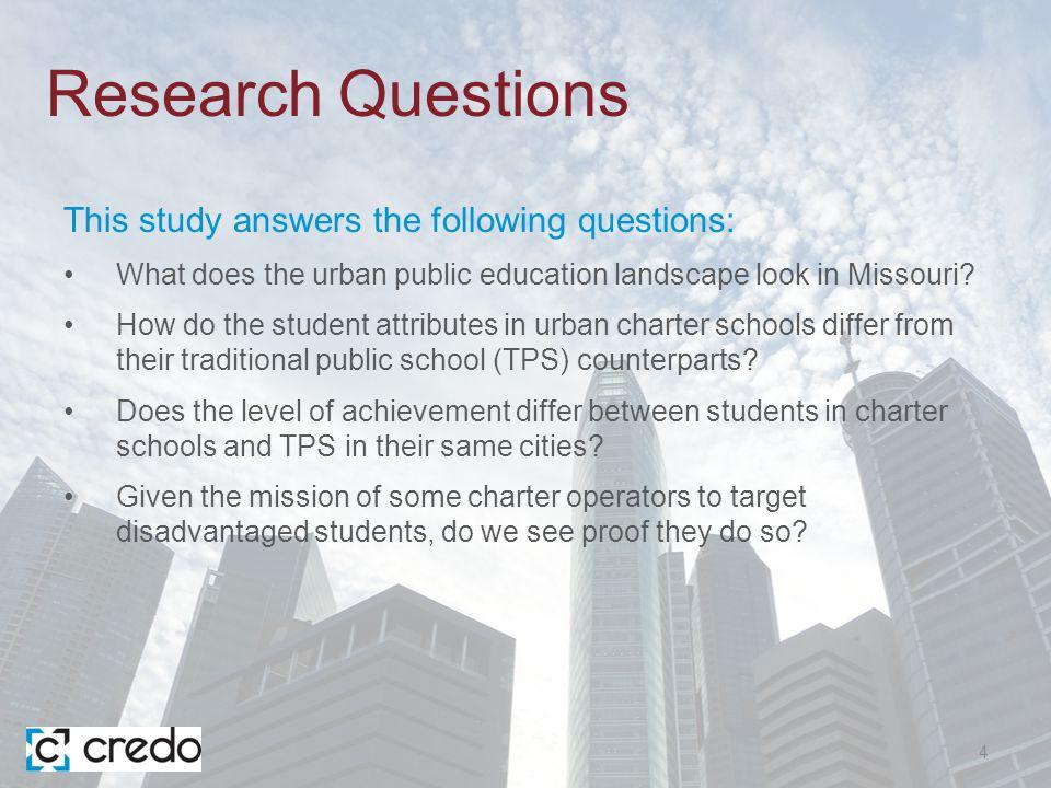 Overview of Public Charter Schools in MISSOURI 5