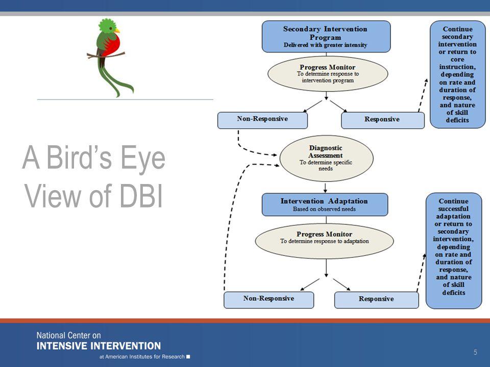 5 A Bird's Eye View of DBI