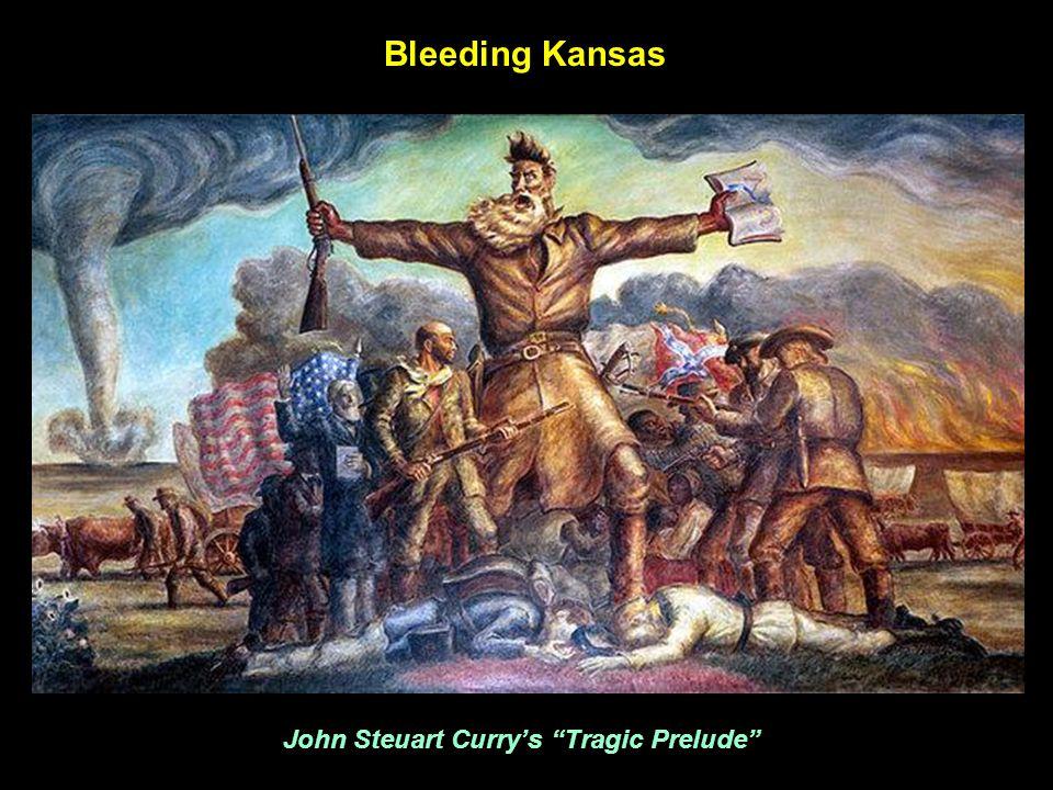 John Steuart Curry's Tragic Prelude Bleeding Kansas