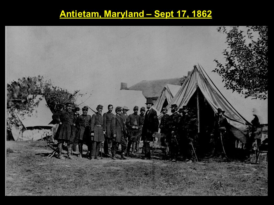 Antietam, Maryland – Sept 17, 1862