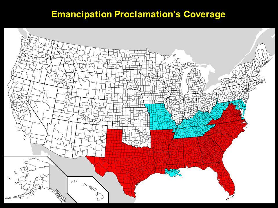 Emancipation Proclamation's Coverage