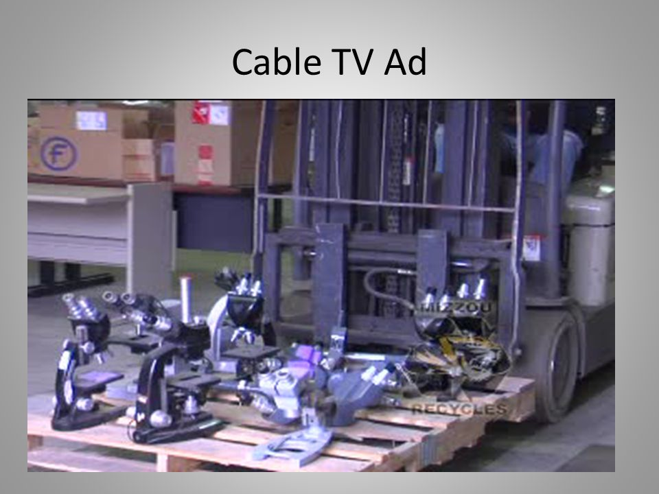 Cable TV Ad