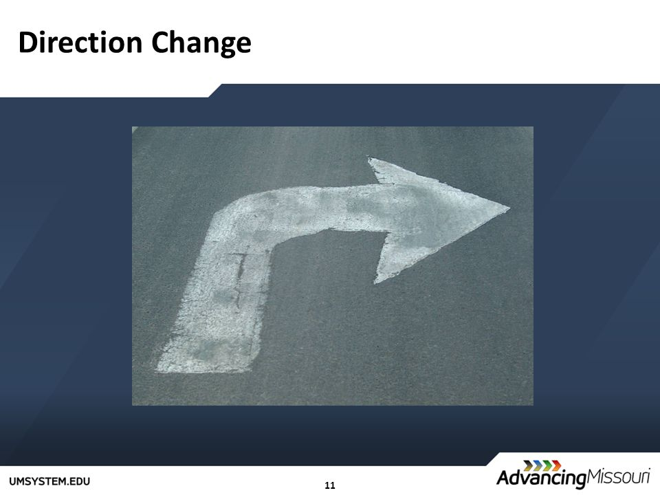 11 Direction Change