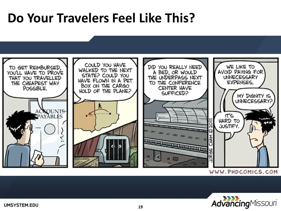 19 Do Your Travelers Feel Like This