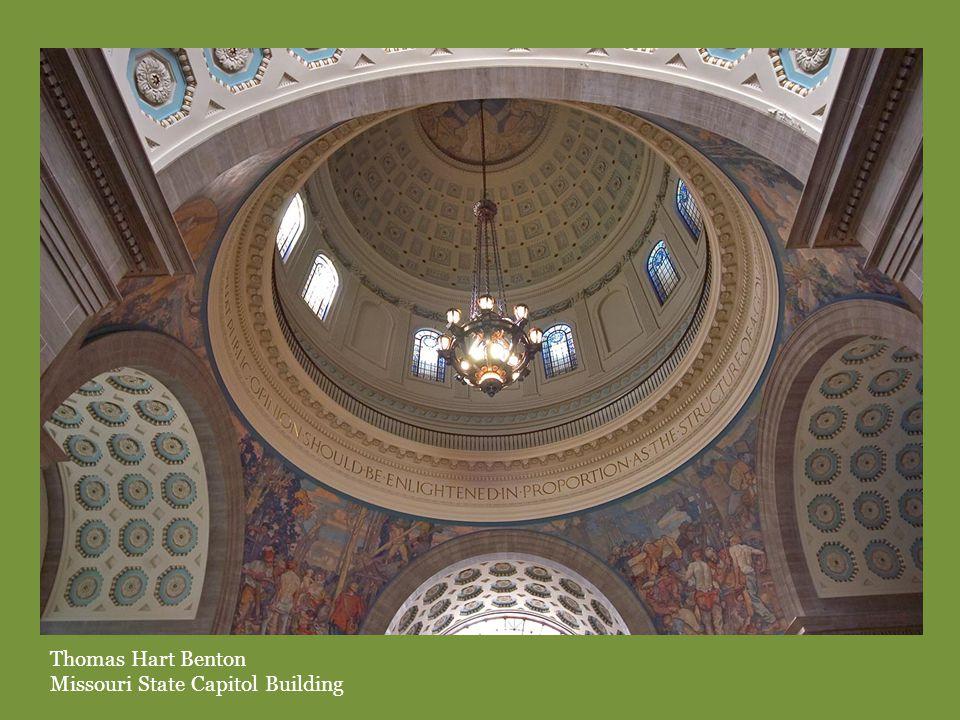Thomas Hart Benton Missouri State Capitol Building