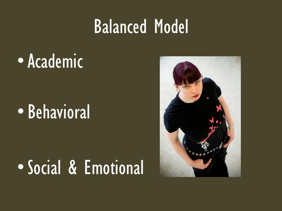Balanced Model Academic Behavioral Social & Emotional