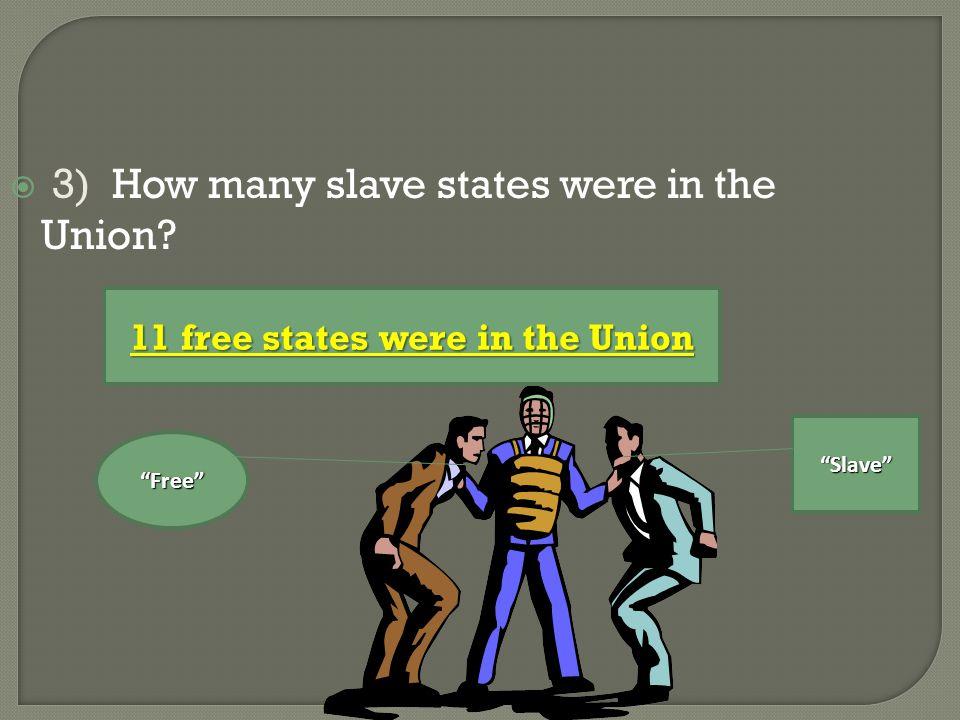 North California free 1) California enters as a free state Slave trade Washington D.C.