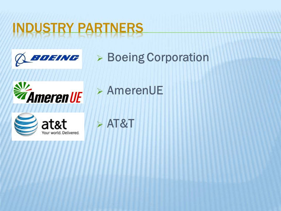  Boeing Corporation  AmerenUE  AT&T