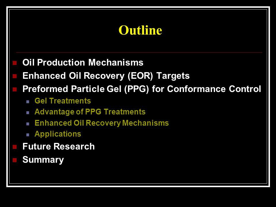 Oil Production Processes