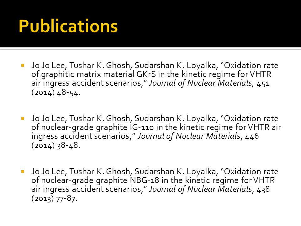  Jo Jo Lee, Tushar K. Ghosh, Sudarshan K.