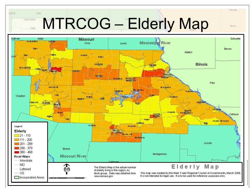 MTRCOG – Elderly Map
