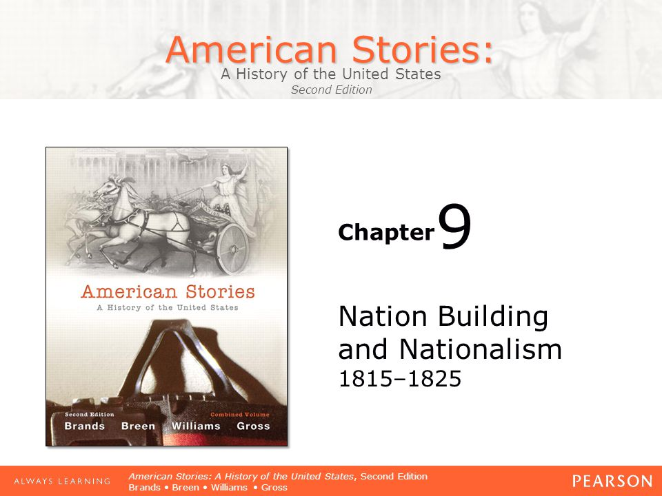 American Stories: A History of the United States Second Edition Chapter American Stories: A History of the United States, Second Edition Brands Breen