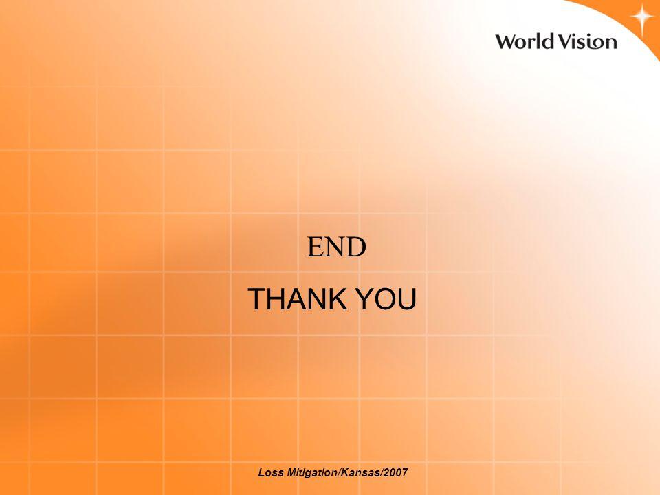 END THANK YOU Loss Mitigation/Kansas/2007