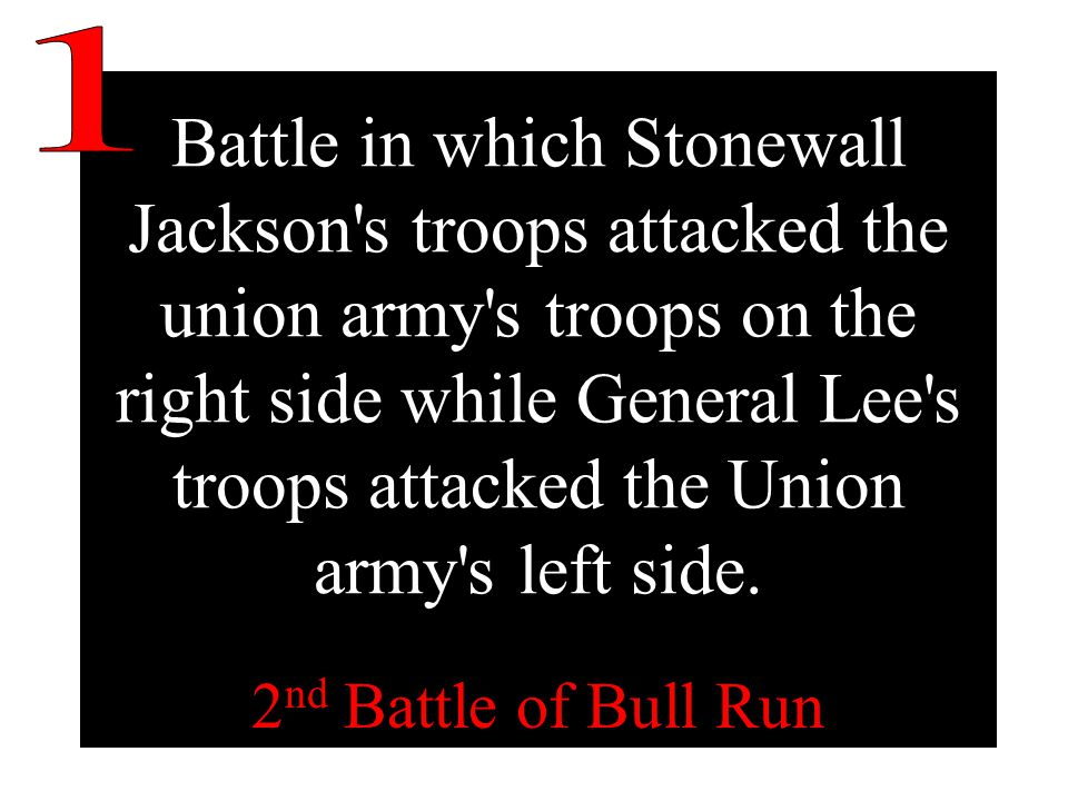 Battle that proved to be a turning point of the war and that renewed northern confidence that the war could be won.