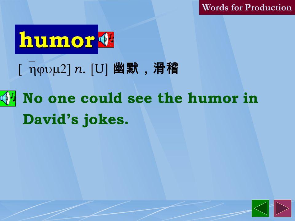 humorist 3. [`hjum1rIst] n.