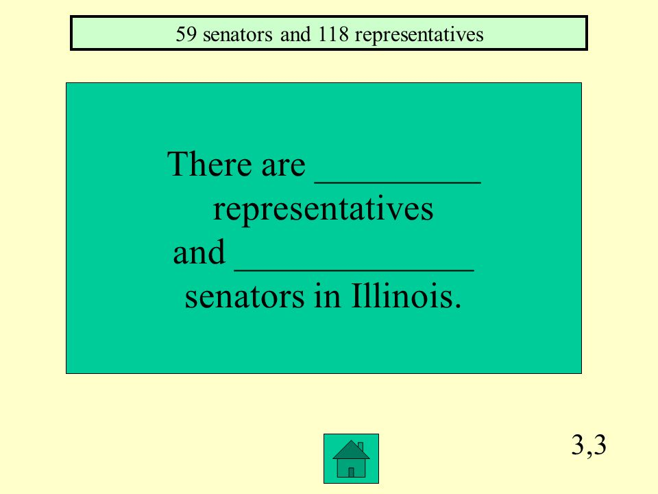3,2 In Illinois, the House of Representatives and Senate together are called________.