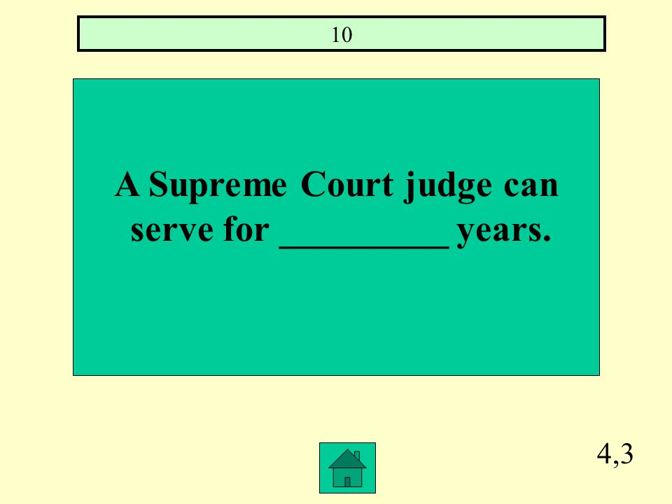 4,2 The highest court in Illinois is ___________ and it has _______ members. Supreme Court, 7
