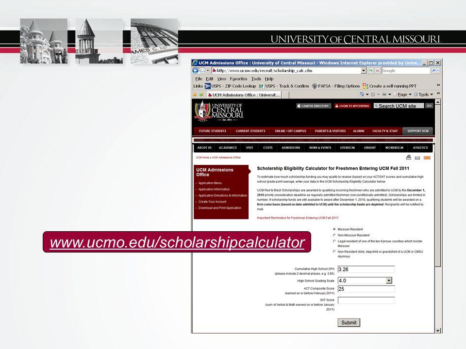 www.ucmo.edu/scholarshipcalculator