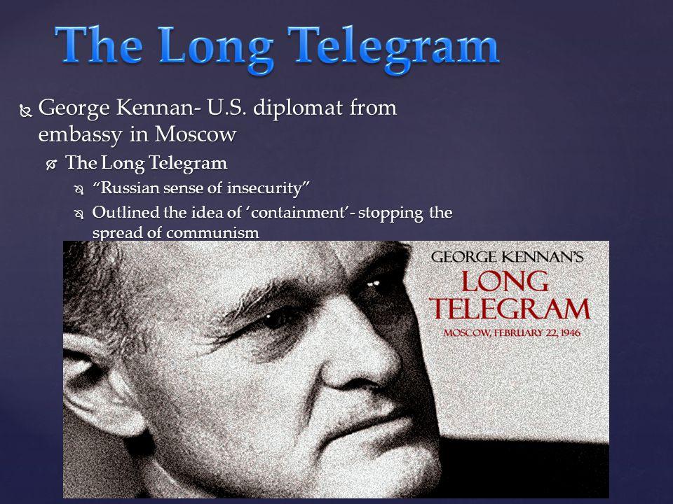  George Kennan- U.S.