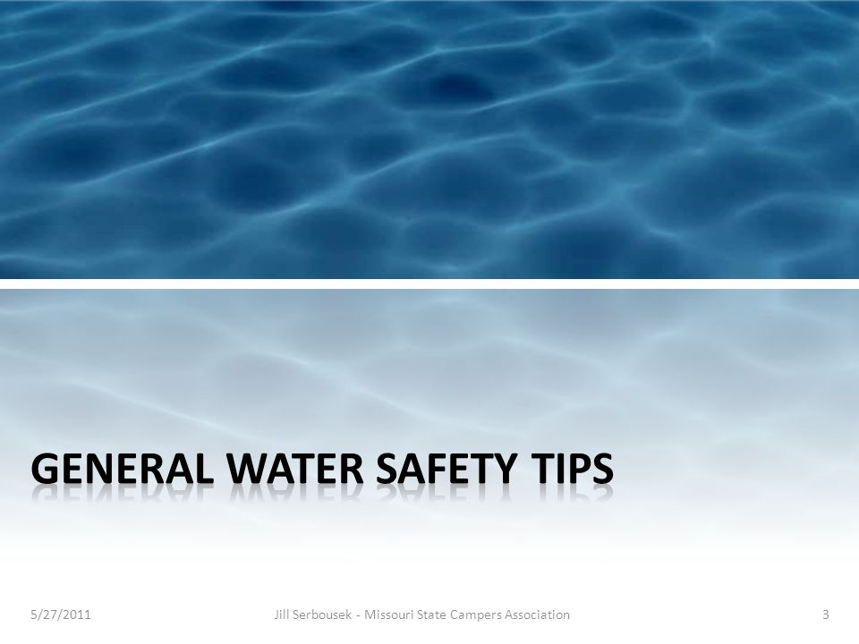 Learn to swim Swim in areas supervised by a lifeguard Children or inexperienced swimmers should take precautions, such as wearing a U.S.