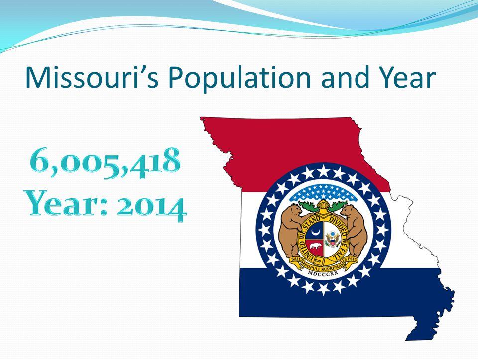 Missouri's Population and Year