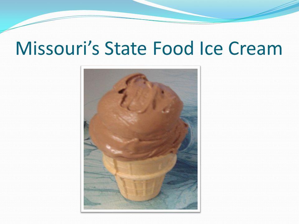 Missouri's State Food Ice Cream