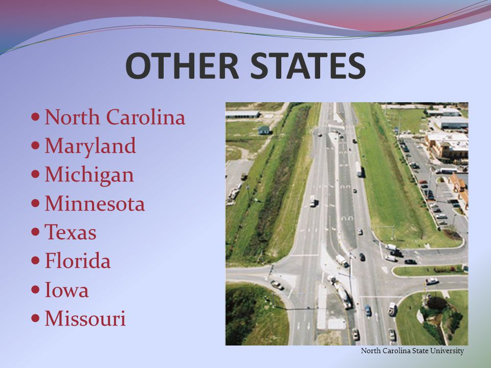 OTHER STATES North Carolina Maryland Michigan Minnesota Texas Florida Iowa Missouri North Carolina State University