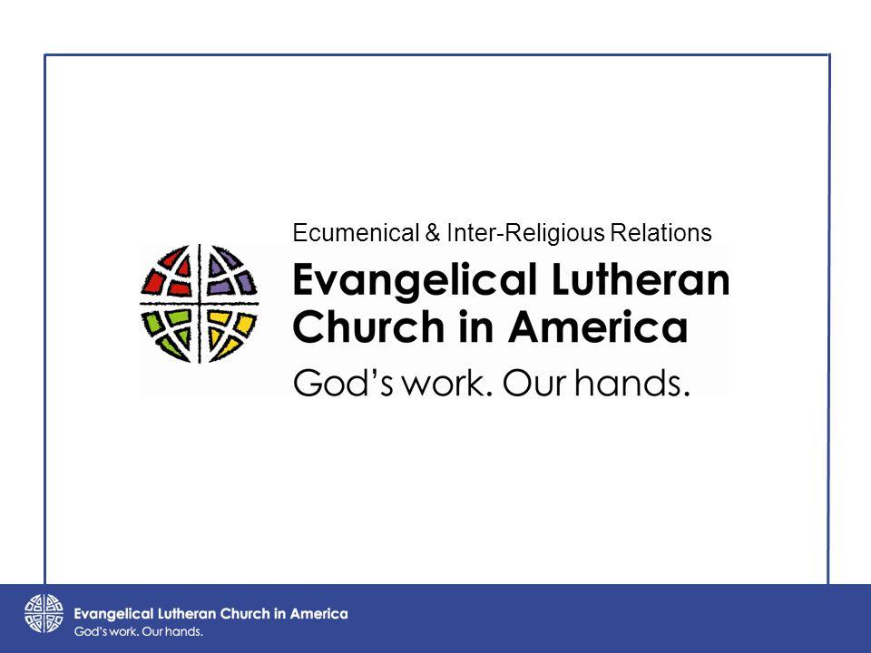 Ecumenical & Inter-Religious Relations